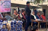 श्रीकृष्ण प्रणामी युवा परिषद् नेपालद्वारा न्यानो कपडा वितरण