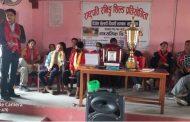 आफ्ना बिजेता खेलाडिलाई गवै मावि द्वारा सम्मान