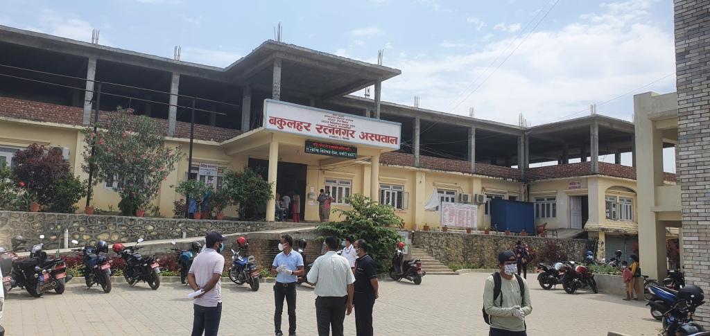 आइसियु र भेन्टीलेटर राख्न बकुलहर रत्ननगर अस्पताललाई ३ करोड