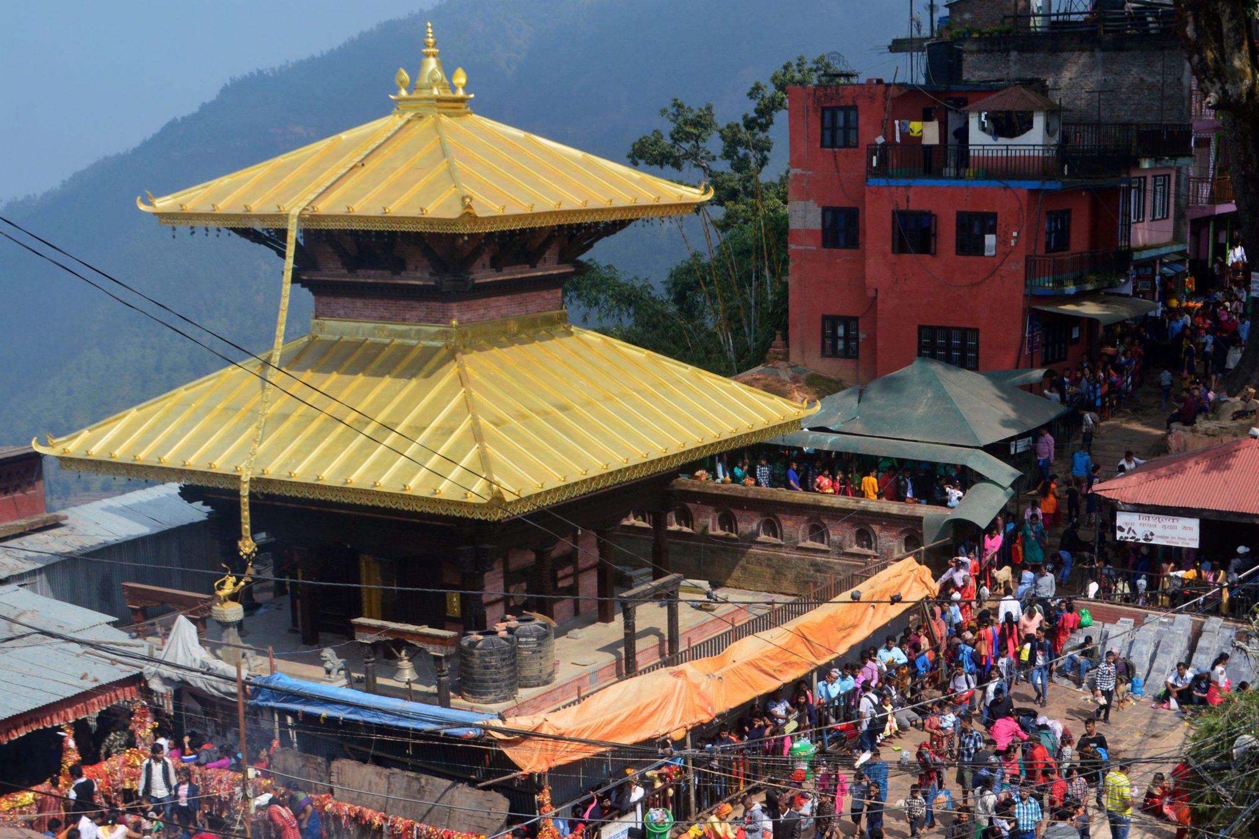 भक्तजनका लागी चार महिनापछि खुल्यो गोरखाको मनकामना मन्दिर