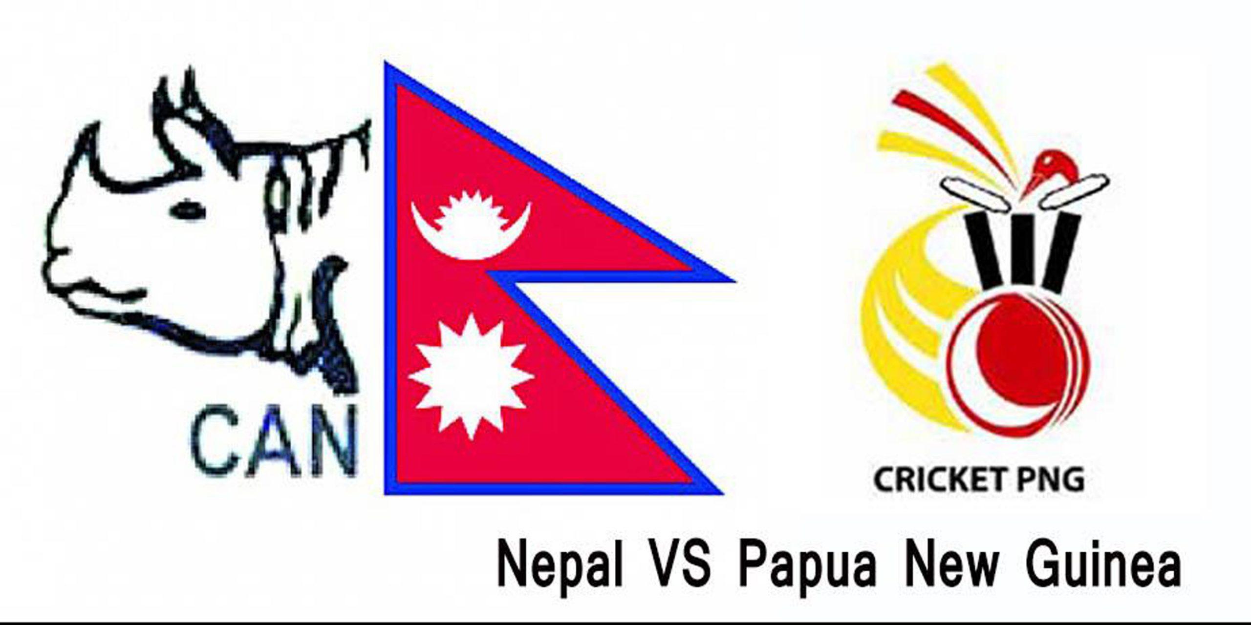 नेपालद्वारा पपुवान्युगिनीलाई २ सय ३४ रनको लक्ष्य, रोहित बने खेलको हिरो
