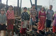 माडीको एक घरमा आगलागी हुँदा दस लाखको क्षति
